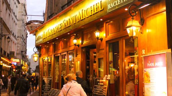 Façade du restaurant - La Grange Saint Michel, Paris