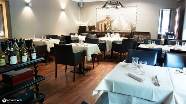 Salon du restaurant - Pomze, Paris