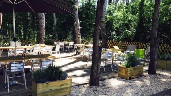 Terrasse - L'Instant Lunch, Montpellier