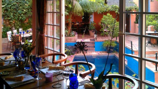 vista terraza - Amanhavis - Hotel Amanhavis, Benahavis