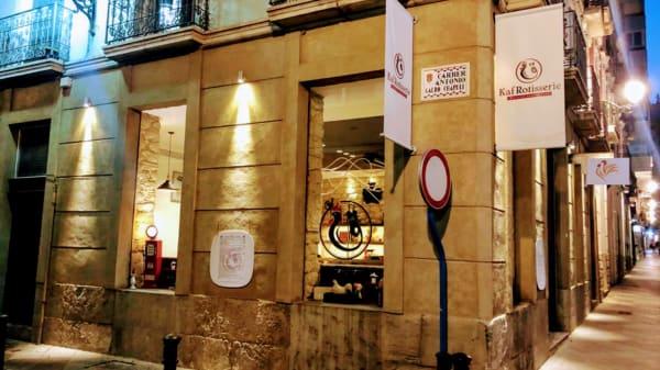 Kaf Rotisserie Halal, Alicante