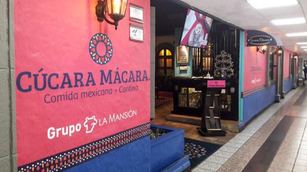 Entrada - Cucara Macara, Ciudad de México