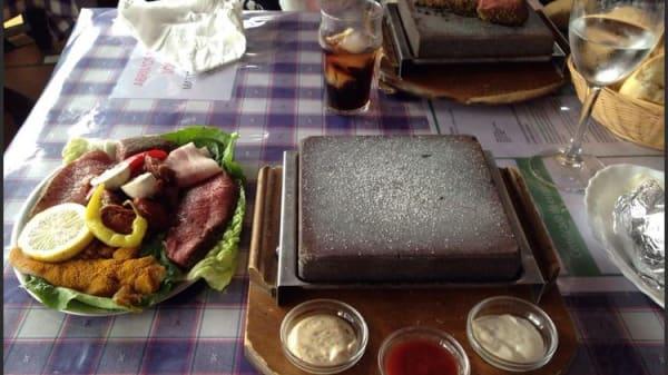 Carne a la piedra - Carne a la Piedra, Salobreña