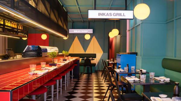 Vista de sala - Páru Inkas Sushi & Grill, Madrid
