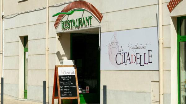 Entrée - La Citadelle, Champtoceaux