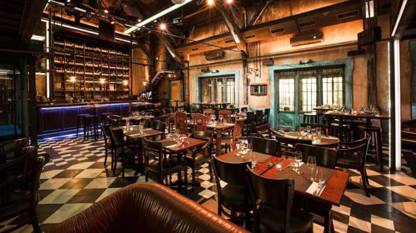 Salle du restaurant - Le Diskret, Lyon