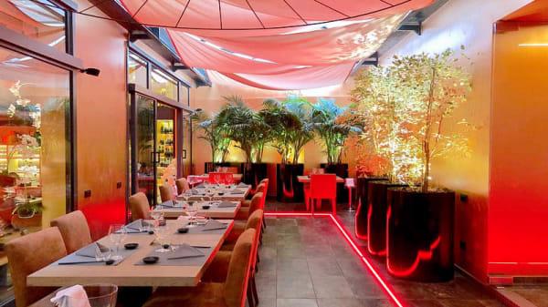 Vista sala - Acquario Sushi Night & Steakhouse Deluxe, Palermo