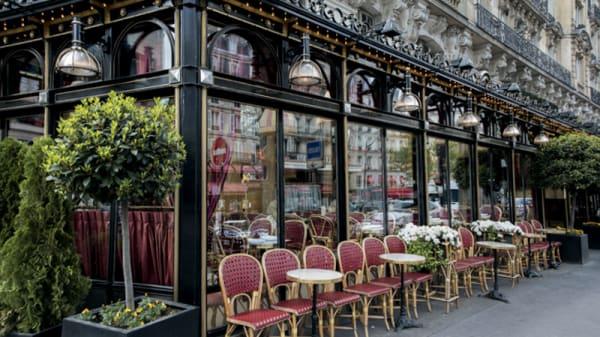 Façade du restaurant - Le Dôme, Paris