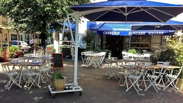 Vue terrasse - Pancake Square, Bois-Colombes