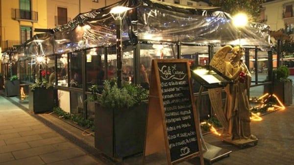 Vista terraza - Café Europa, Olot