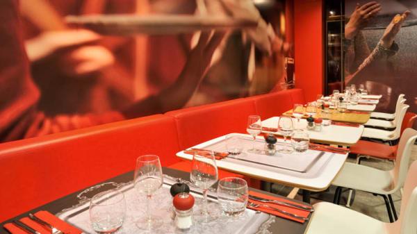 vue salle - IK Restaurant, Lorient