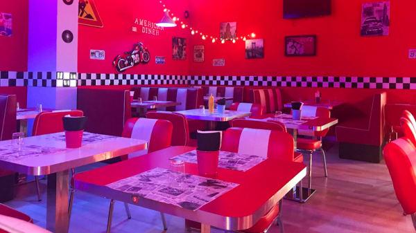 Sala - American Diner 50's, Lusciano