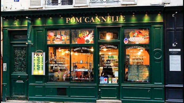 Entrée - Pom'Cannelle, Paris