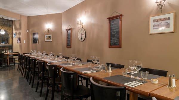Vue de la salle - Café des Gourmets, Bordeaux