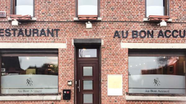 entrée - Au Bon Accueil, Mons