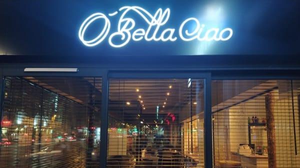 Devanture - O'Bella Ciao, Paris