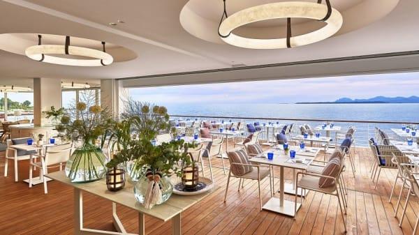 Grill Eden-Roc en journée - Restaurant Grill Eden-Roc, Antibes