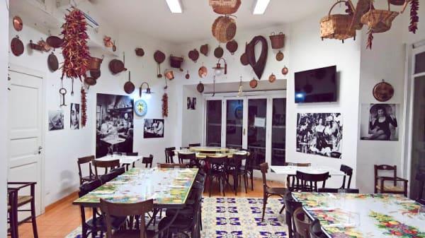 Salone ristorante - San Carlo 17, Napoli