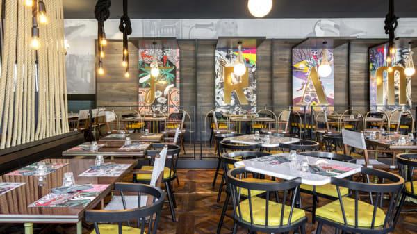 Interno ristorante - Fram Fishrestaurant, Legnano