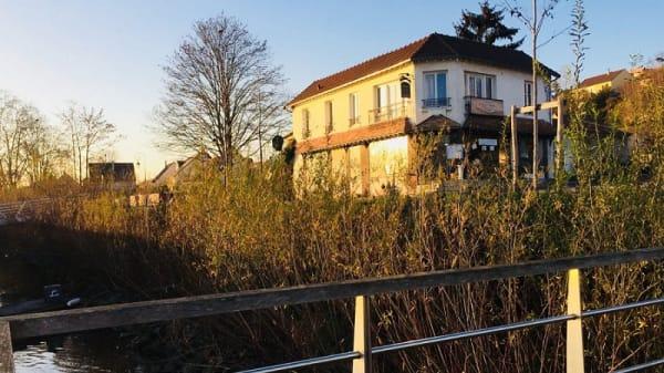 devanture - Le Temps Suspendu, Conflans-Sainte-Honorine