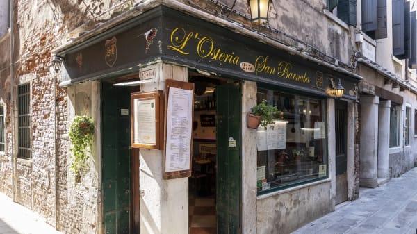L'Osteria San Barnaba, Venezia