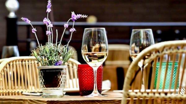 Detalle de la mesa - El Rum Rum, Badalona