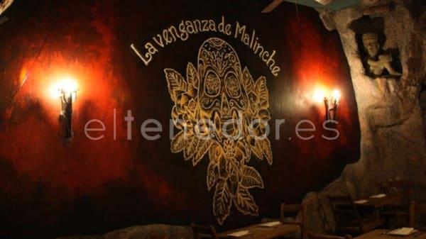 Vista sala - La venganza de Malinche - Jardines, Madrid