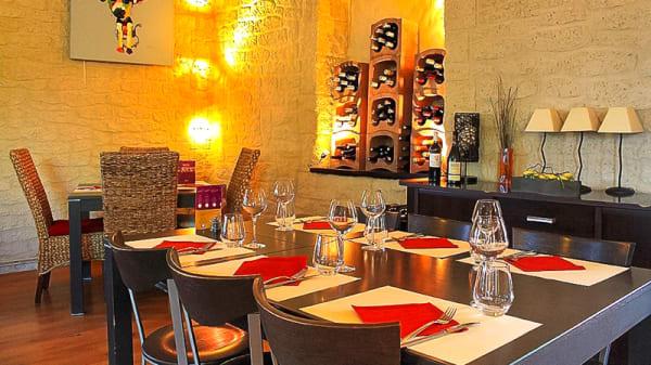 Salle du restaurant - Mas Campo, Lattes