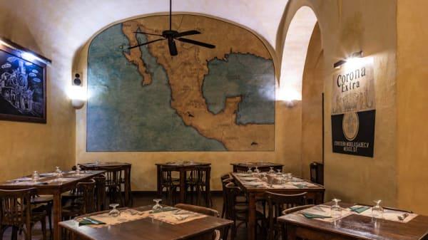 Vista sala - Joe's Cantina, Palermo