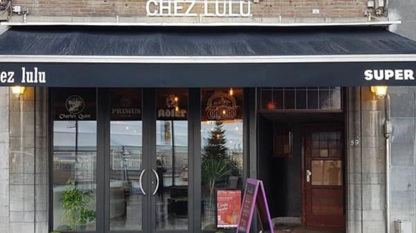 Façade - Chez Lulu, Tournai