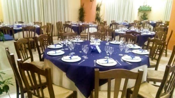 Particolare tavolo - La Nuova Locanda, Orsomarso