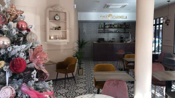 Vista de la sala - Café Carmela, Palma de Mallorca