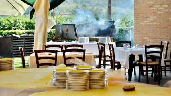 Barbecue esterno - Agriturismo L'Infinito, Cesena