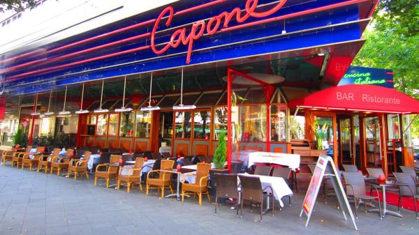 Terrasse - Restaurant Capone Berlin, Berlin