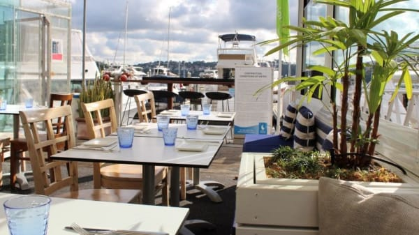 Casual seaside trattoria dining, right on the water - Chiosco by Ormeggio, Mosman (NSW)