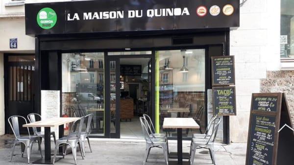 Devanture - La Maison du Quinoa, Paris