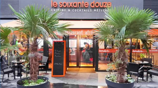 Entrée - Le Soixante-Douze, Paris