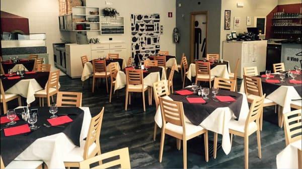 Vista sala - Doppiozero Ristorante Pizzeria, Bolzano