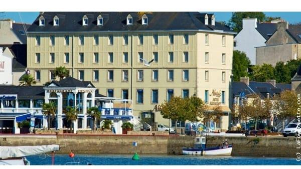 Vue extérieure - Le Grand Hotel Abbatiale, Bénodet