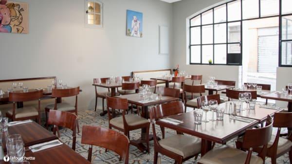 Salle du restaurant - L'avant cour du vallon des Auffes, Marseille