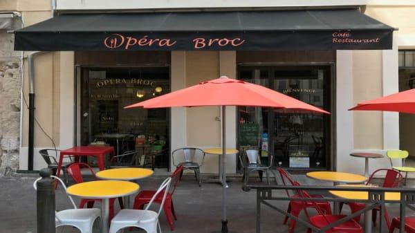 Terrasse - Opéra Broc, Marseille