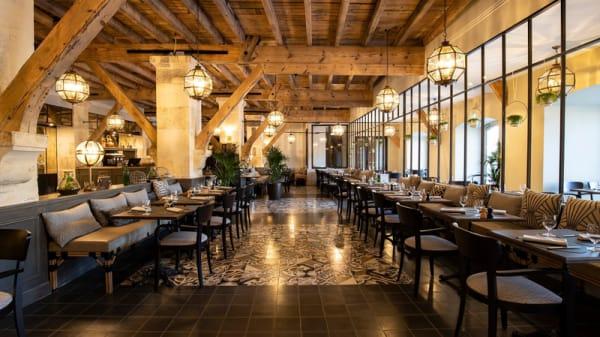 vue de la salle - Hotel Chais Monnet - La Distillerie, Cognac