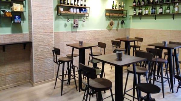 Sala del restaurante - Taberna Calore, Valencia