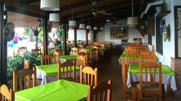 Sala del restaurante - El Rinconcillo de JR, Almuñécar