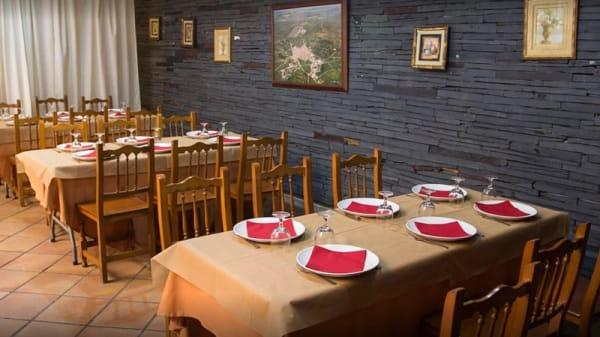 Sala del restaurante - La Fusa, Cáceres