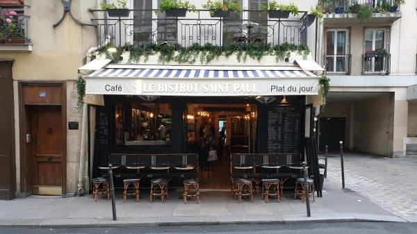 entrée - Bistrot Saint Paul, Paris