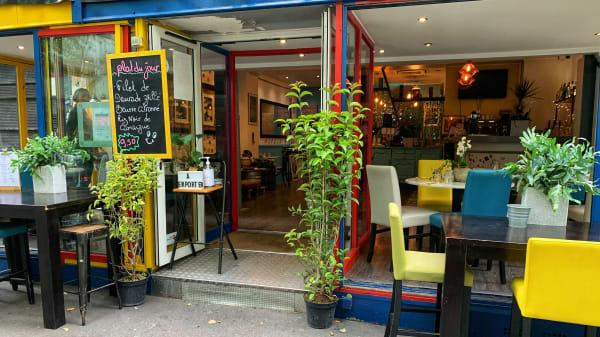Terrasse - XIII Restaurant de Famille et Bar d'Amour, Paris