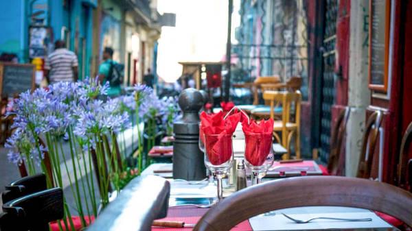 la terrasse - Passe Mexicain, Marseille