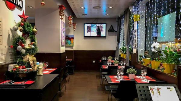 Sala del restaurante - Japon Jamon Arenas, Barcelona