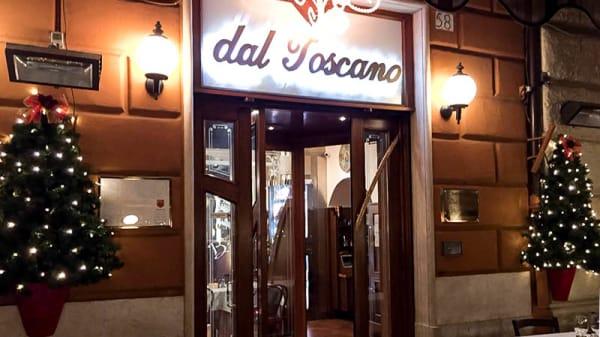 esterno - Dal Toscano, Roma